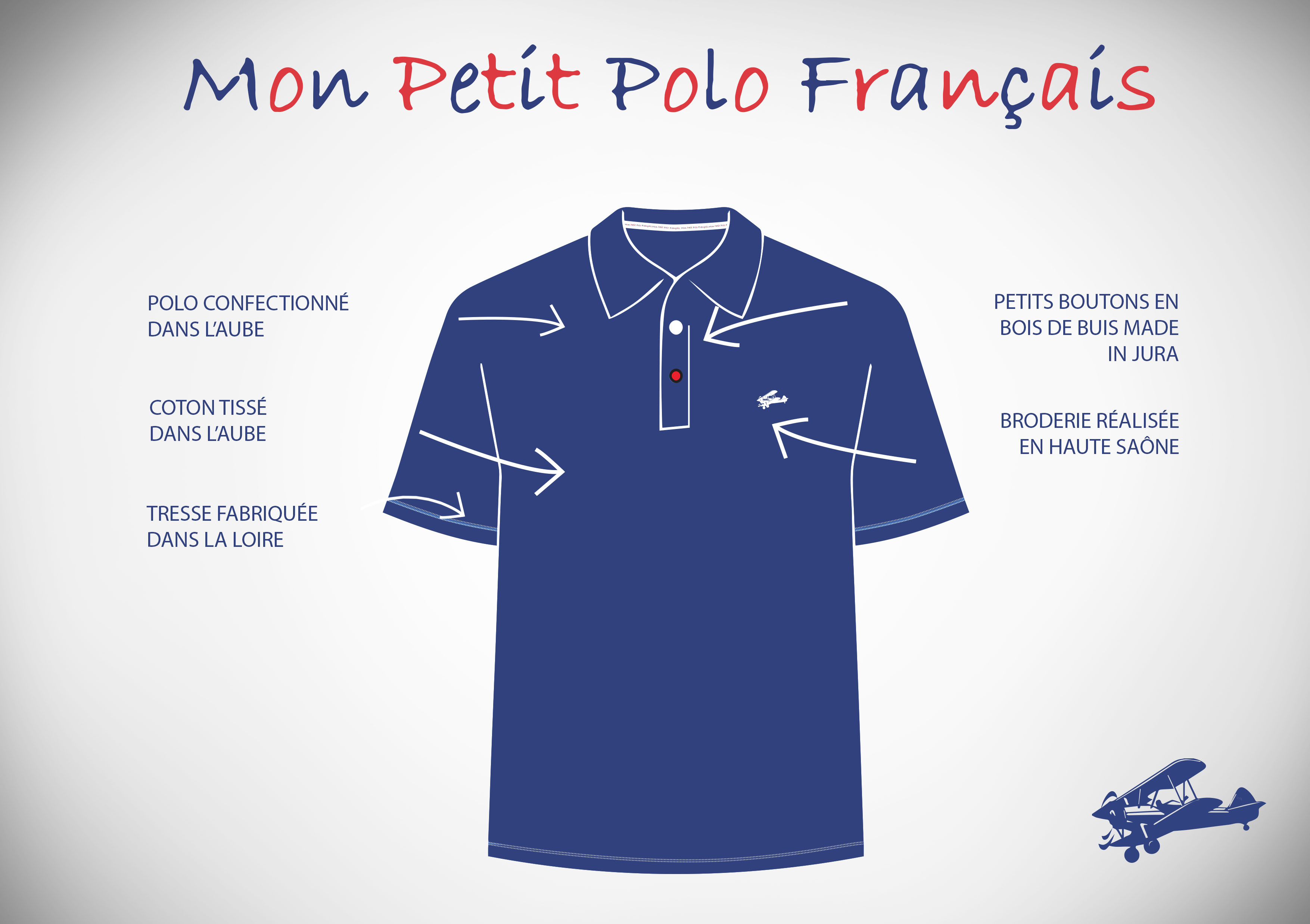 Polo 100% Made in France