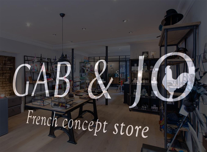 Fournisseur du concept store GAB & JO