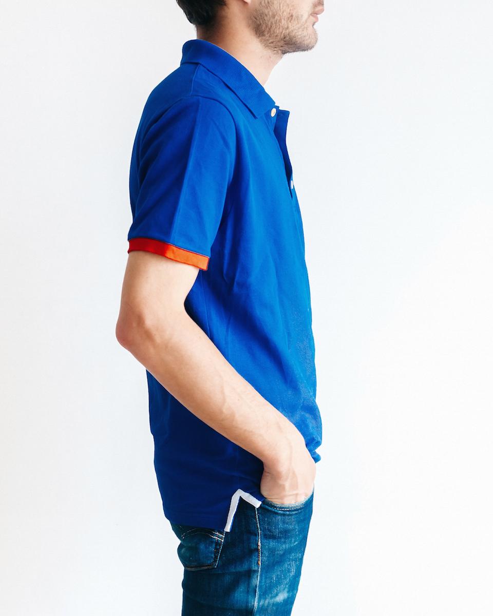 Le Bleu fanion